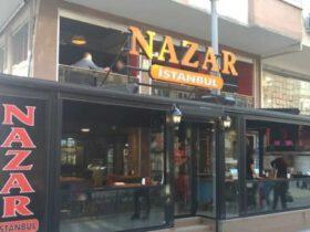 Küçükçekmece'de faaliyet gösteren Nazar İstanbul Cafe kapandı